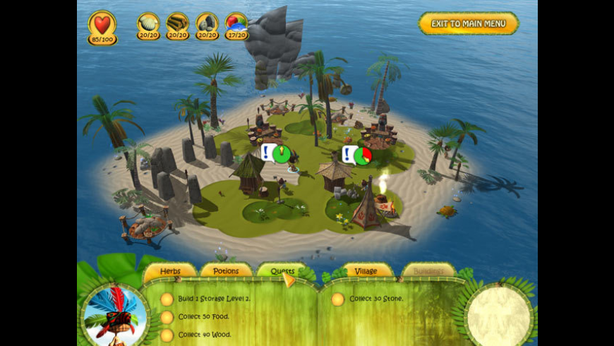 Shaman Odyssey - Tropic Adventure for Mac - review, screenshots