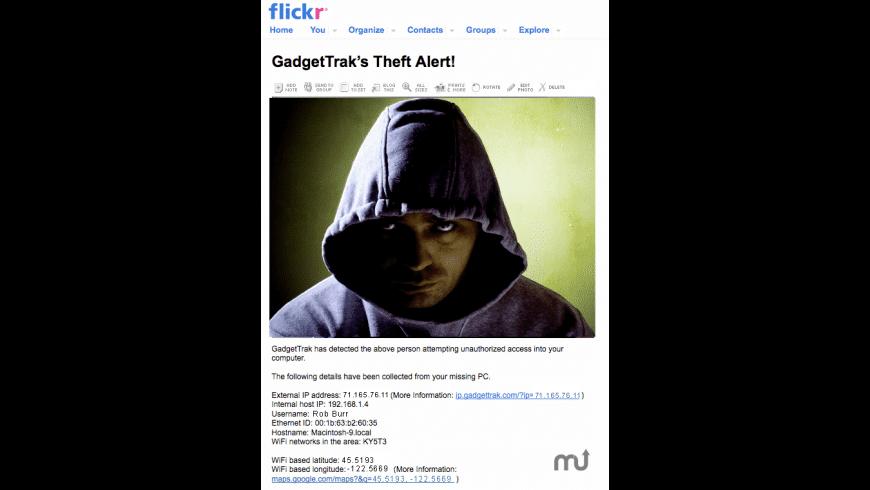 MacTrak for Mac - review, screenshots