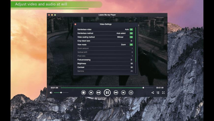 Leawo Blu-ray Player for Mac - review, screenshots