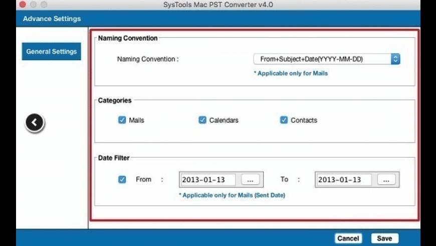 PST Converter for Mac - review, screenshots