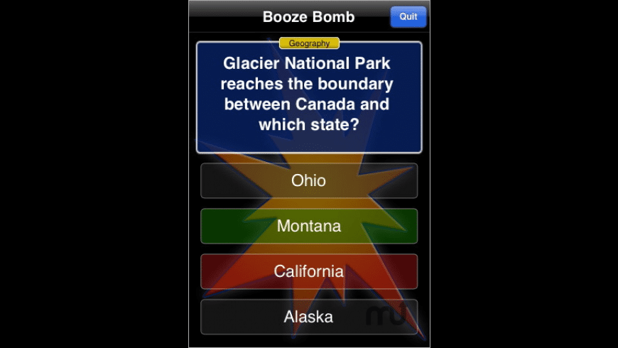 Booze Bomb for Mac - review, screenshots