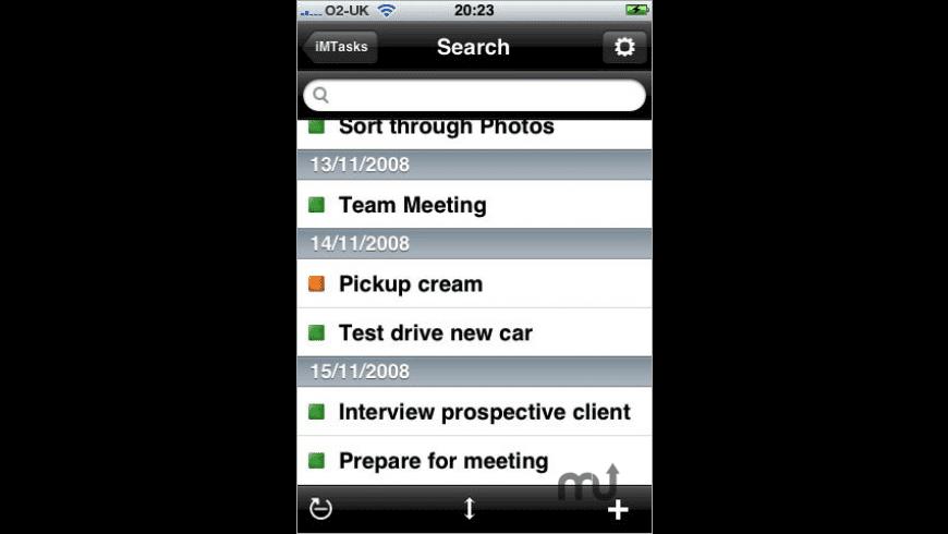 iMTasks (OutlookTasks) for Mac - review, screenshots