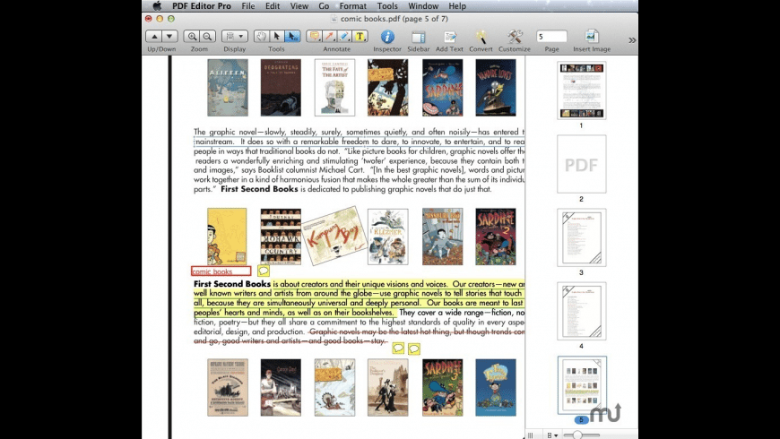 Wondershare PDF Converter for Mac - review, screenshots