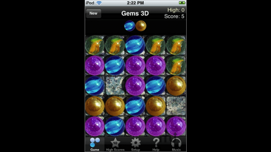 Gems 3D Puzzle Game for Mac - review, screenshots