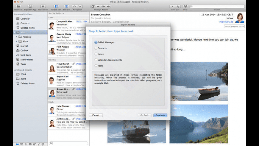 PST Bridge Pro for Mac - review, screenshots