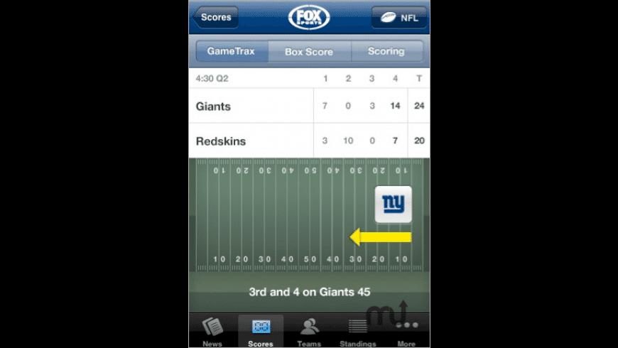 FOX Sports Mobile for Mac - review, screenshots