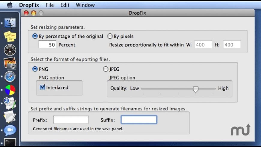 DropFix for Mac - review, screenshots