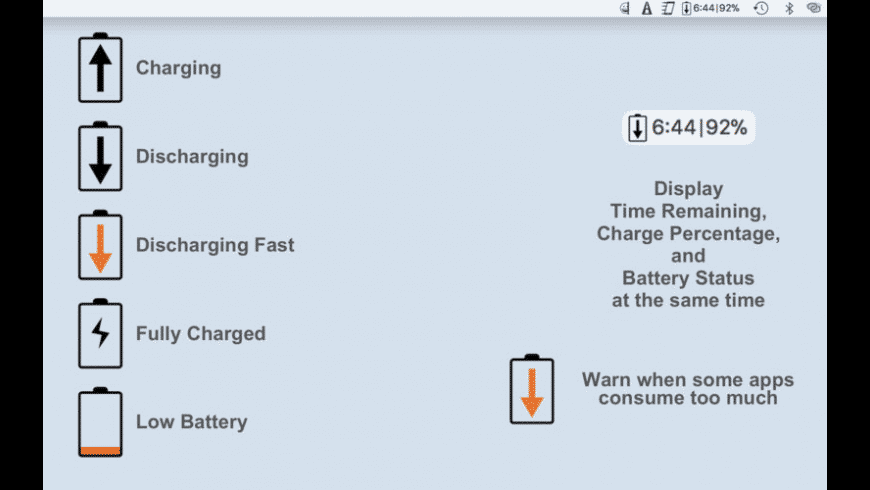 Simple Battery Monitor for Mac - review, screenshots