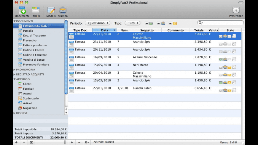 SimplyFatt for Mac - review, screenshots
