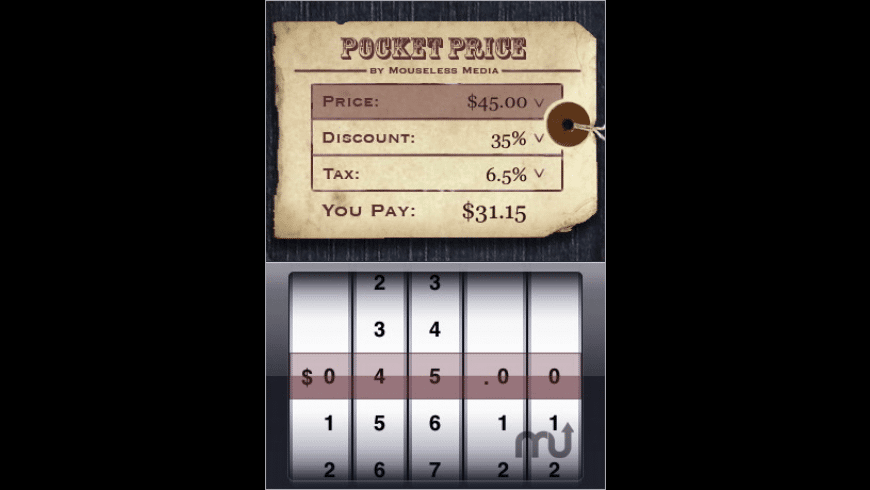 Pocket Price for Mac - review, screenshots