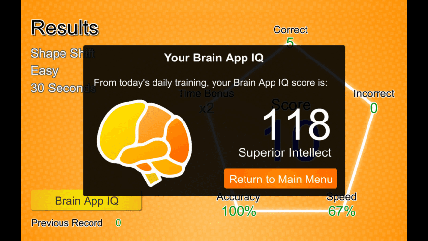 Brain App for Mac - review, screenshots