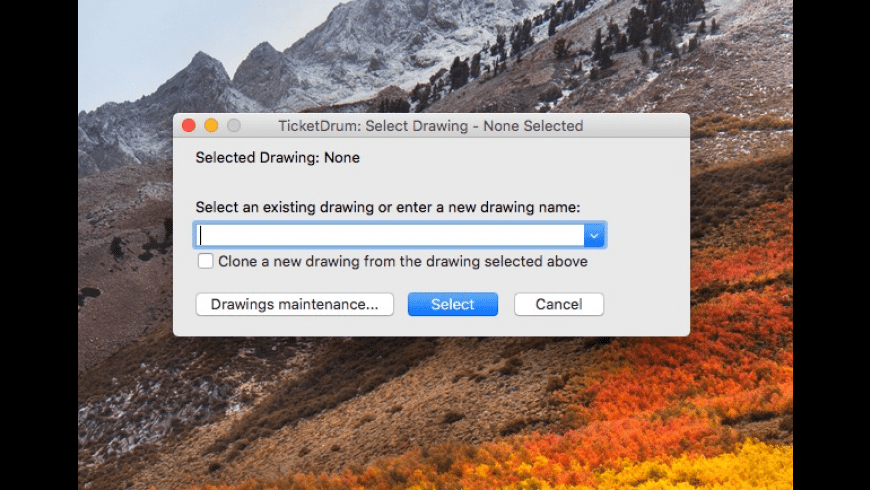 TicketDrum for Mac - review, screenshots