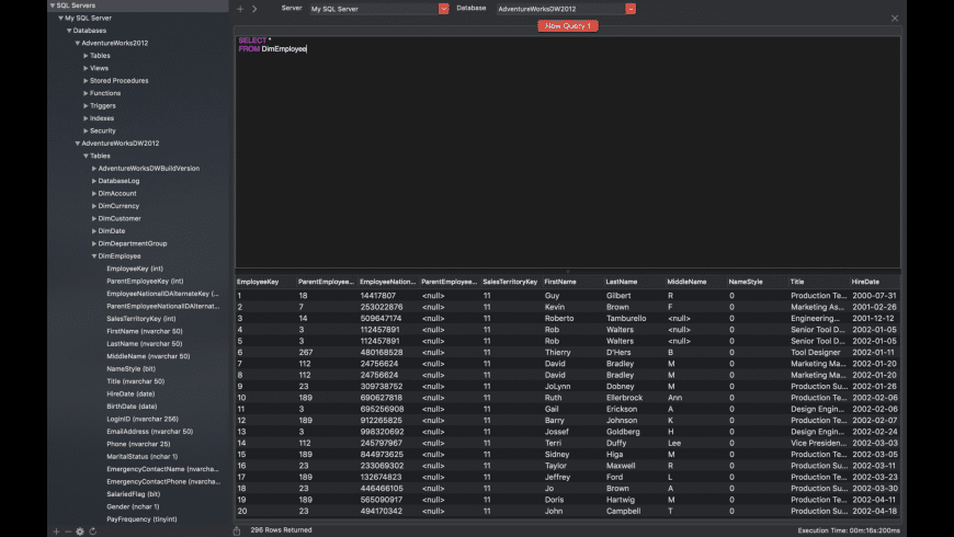 SQL Studio for Mac - review, screenshots