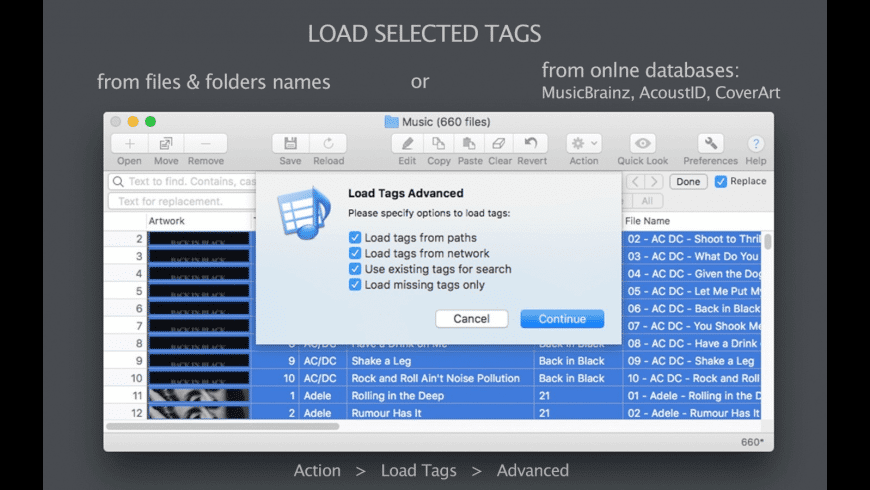 Tag Editor for Mac - review, screenshots
