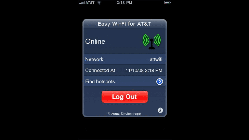 Easy Wi-Fi for AT&T for Mac - review, screenshots