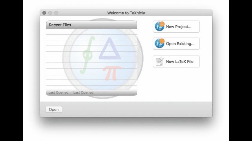 TeXnicle for Mac - review, screenshots