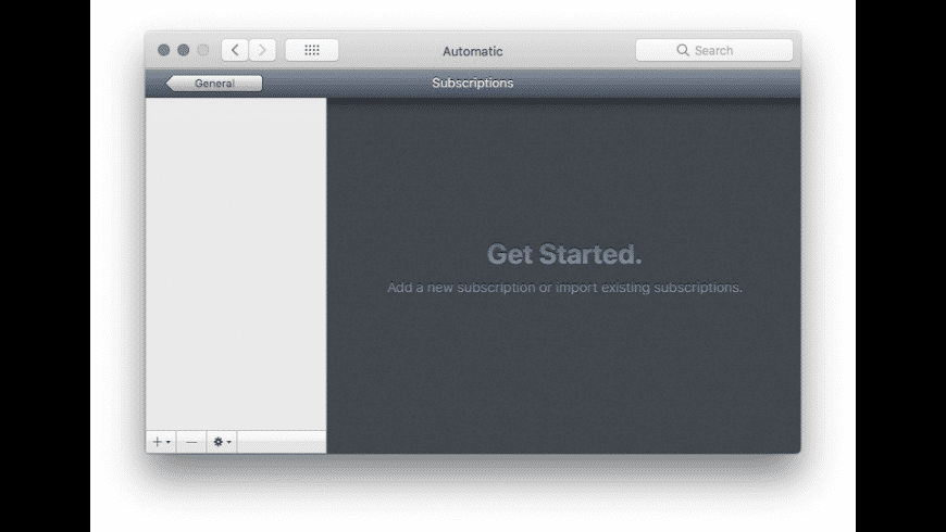 Automatic for Mac - review, screenshots