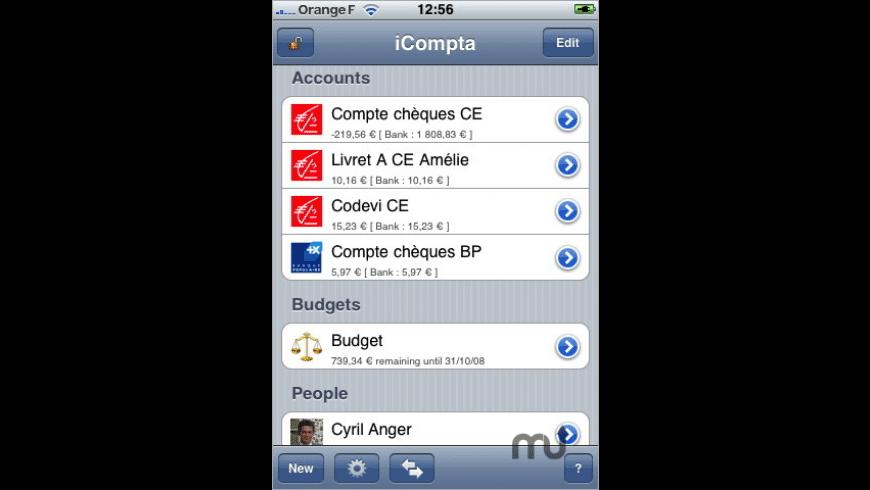 iCompta for Mac - review, screenshots