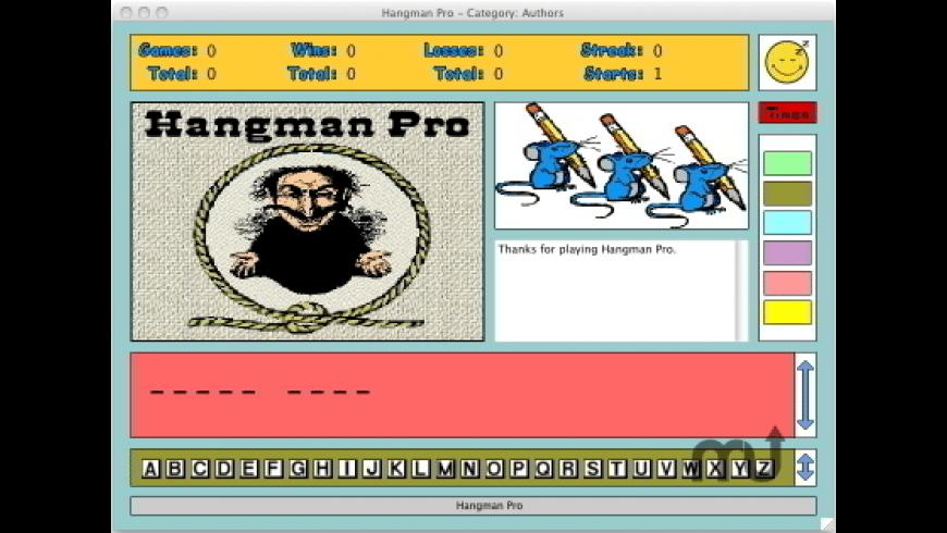 Hangman Pro for Mac - review, screenshots