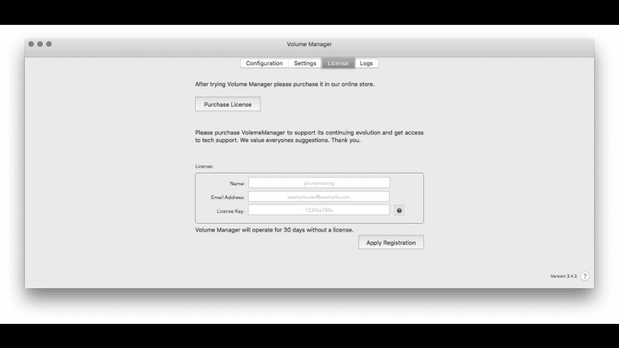 Volume Manager for Mac - review, screenshots
