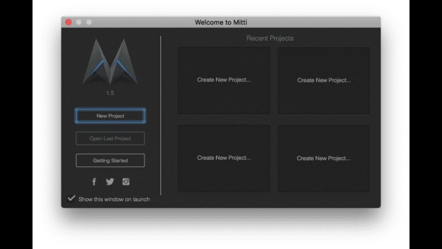 Mitti for Mac - review, screenshots
