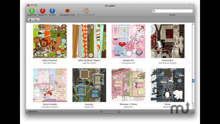 iScrapBox for Mac - review, screenshots