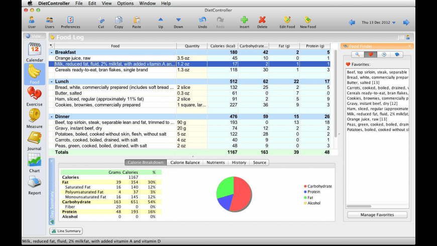 DietController for Mac - review, screenshots