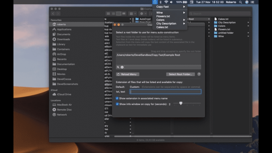 Copy Fast for Mac - review, screenshots
