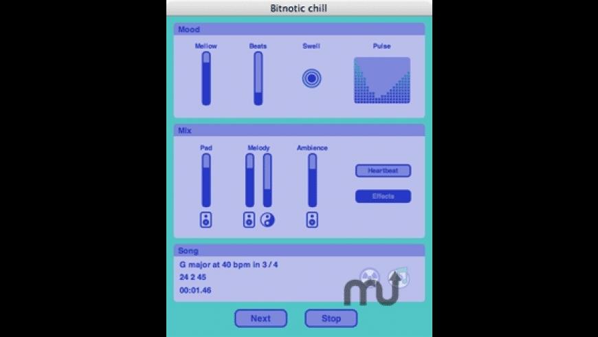 Bitnotic chill for Mac - review, screenshots