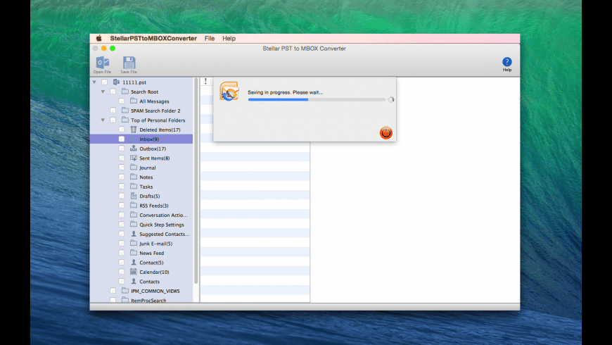 Stellar PST to MBOX Converter for Mac - review, screenshots
