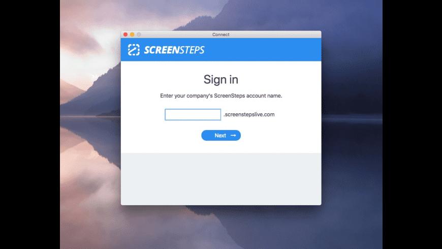 ScreenSteps for Mac - review, screenshots