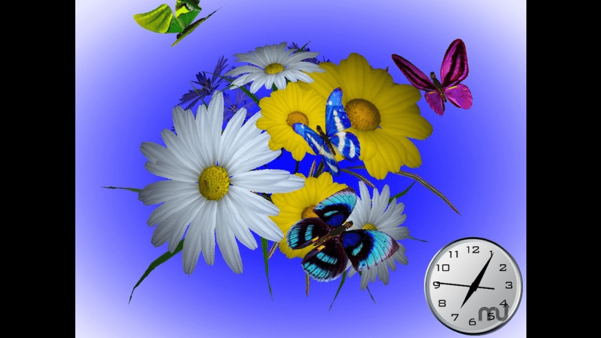 Wonderful Flowers 3D Screensaver for Mac - review, screenshots