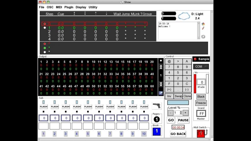 D::Light for Mac - review, screenshots
