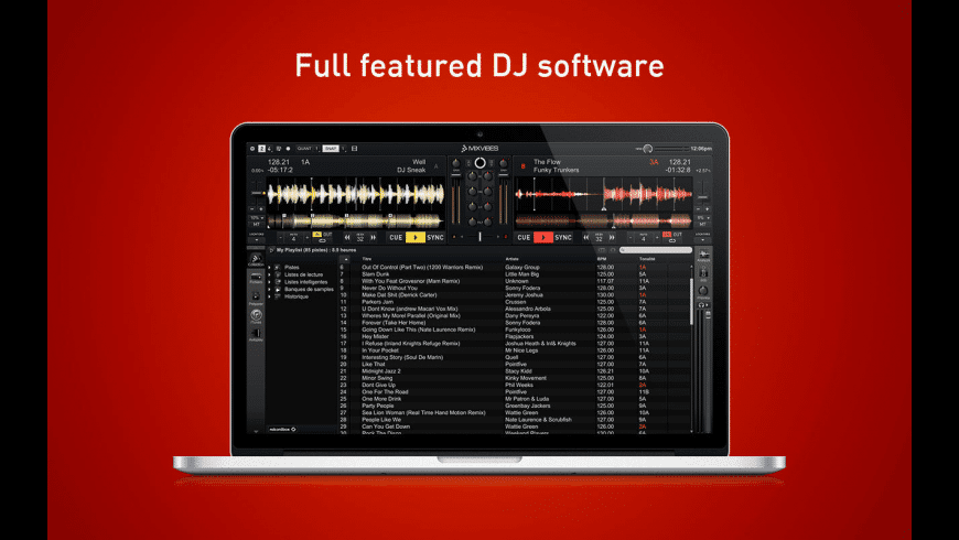 Cross DJ for Mac - review, screenshots