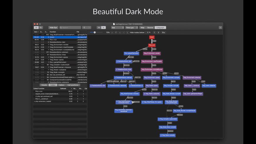 Profiling Viewer for Mac - review, screenshots