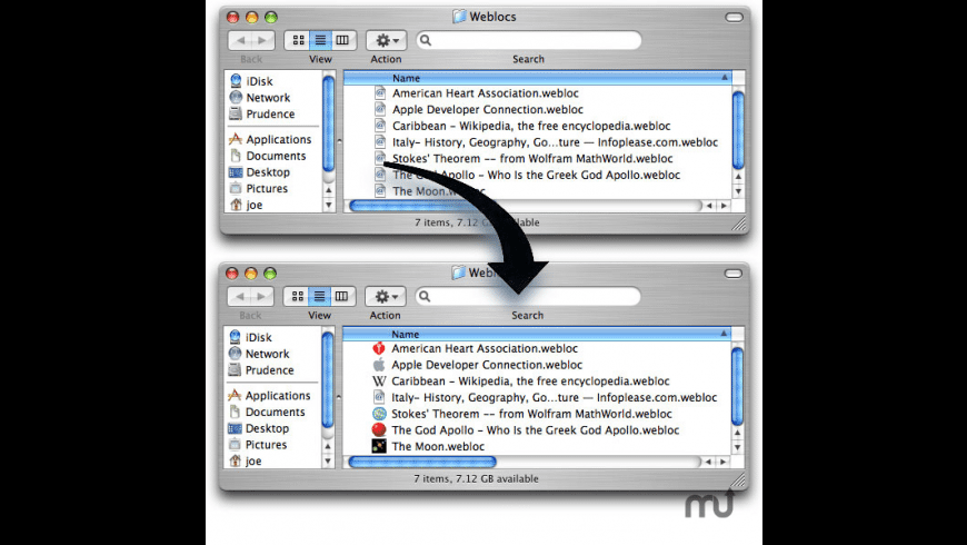 WebIconCM for Mac - review, screenshots