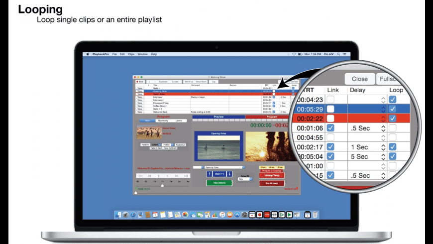 PlaybackPro for Mac - review, screenshots