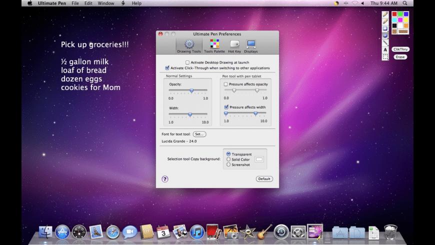 Ultimate Pen for Mac - review, screenshots