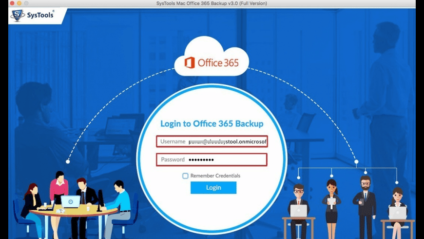 SysTools Office 365 Backup for Mac - review, screenshots
