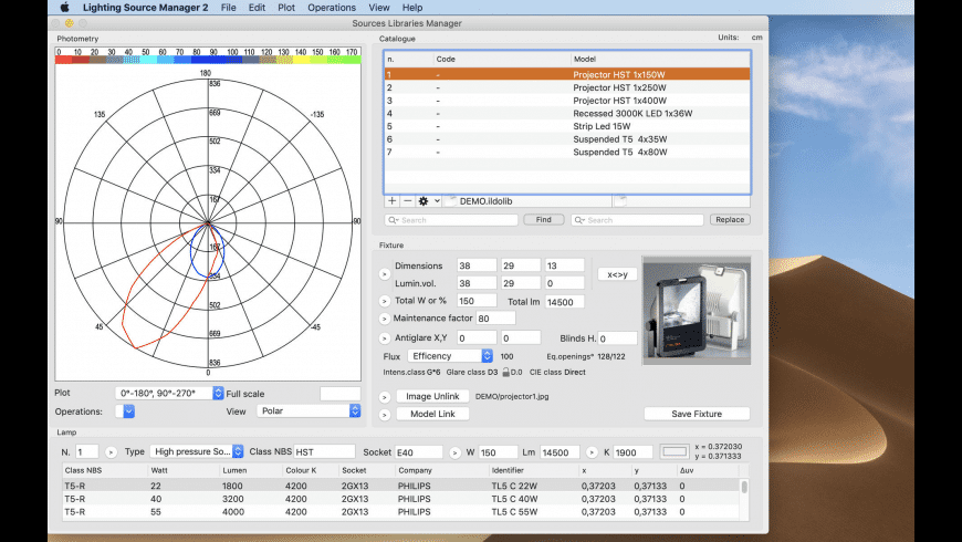 Lighting Source Manager 2 for Mac - review, screenshots