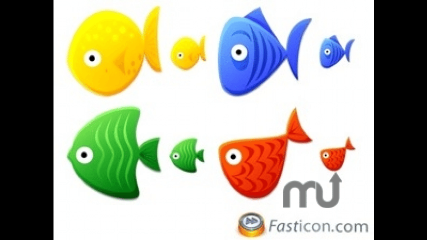 Fish Toys Icons for Mac - review, screenshots