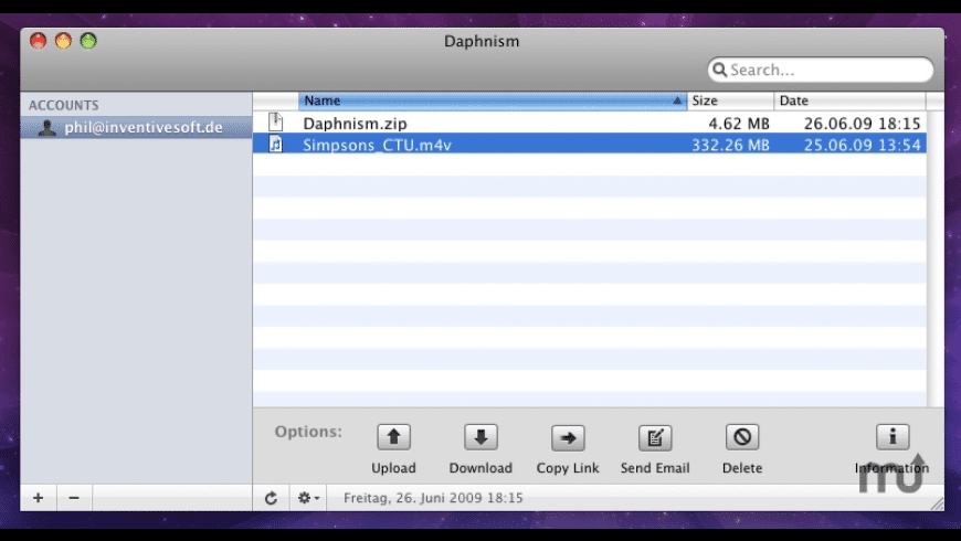 Daphnism for Mac - review, screenshots