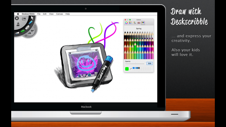 Deskscribble for Mac - review, screenshots