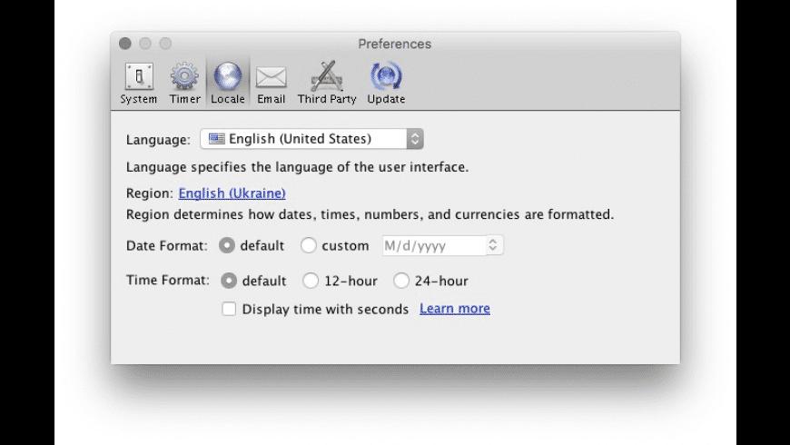 Fanurio for Mac - review, screenshots