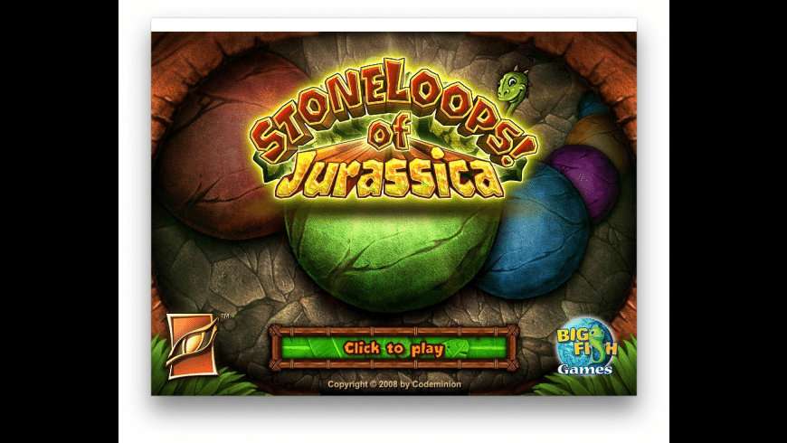 StoneLoops of Jurassica for Mac - review, screenshots