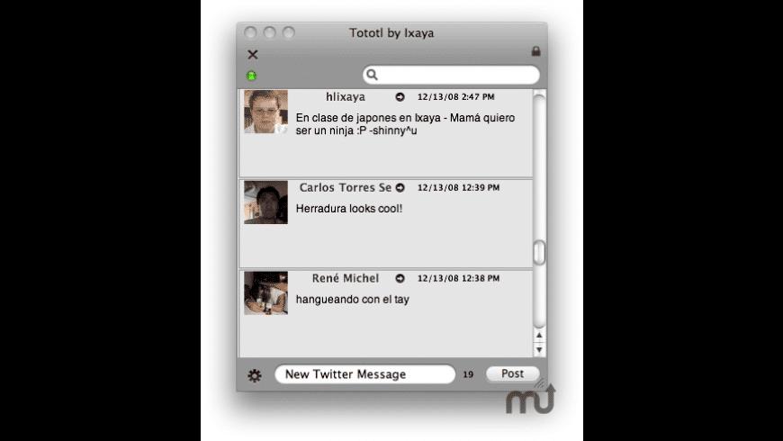 Tototl for Mac - review, screenshots