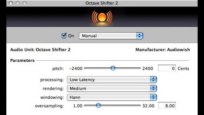 Octave Shifter 2 for Mac - review, screenshots