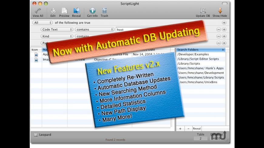 ScriptLight for Mac - review, screenshots