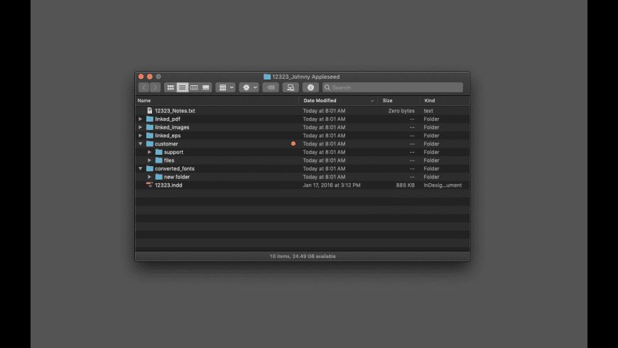 Client Folder Maker for Mac - review, screenshots