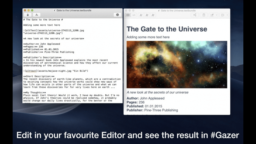 #Gazer for Mac - review, screenshots